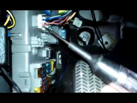 Honda Prelude no dashboard lights or tail lights - YouTube