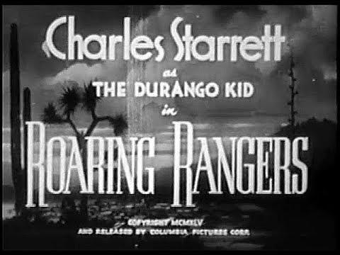 The Durango Kid - Roaring Rangers - Charles Starrett, Smiley Burnette
