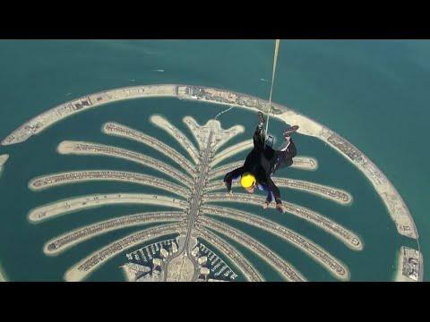 Insane Dubai SkyDiving