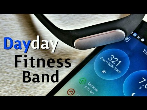 DayDay Band - Waterproof Fitness Tracker and Fitness Band