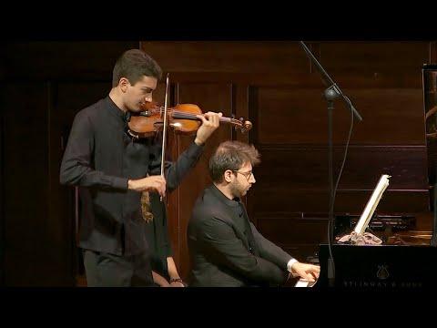 Gabriel Fauré: Sonata en La mayor para violín y piano Op. 13