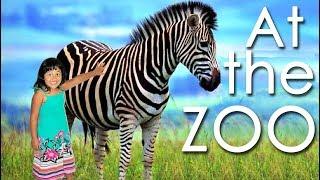 Kids at the Zoo Learn Animals Names Safari Wild ZOO Children's ZOO