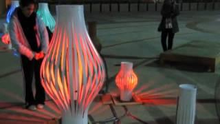 Tropismo Instalacion urbana interactiva