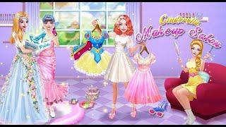 Cinderella fashion salon game 2021 | Cinderella Makeup And Dress Up Salon Games 2021 #shorts screenshot 4