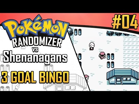 Pokemon Randomizer 3 Goal Bingo vs Shenanagans #4
