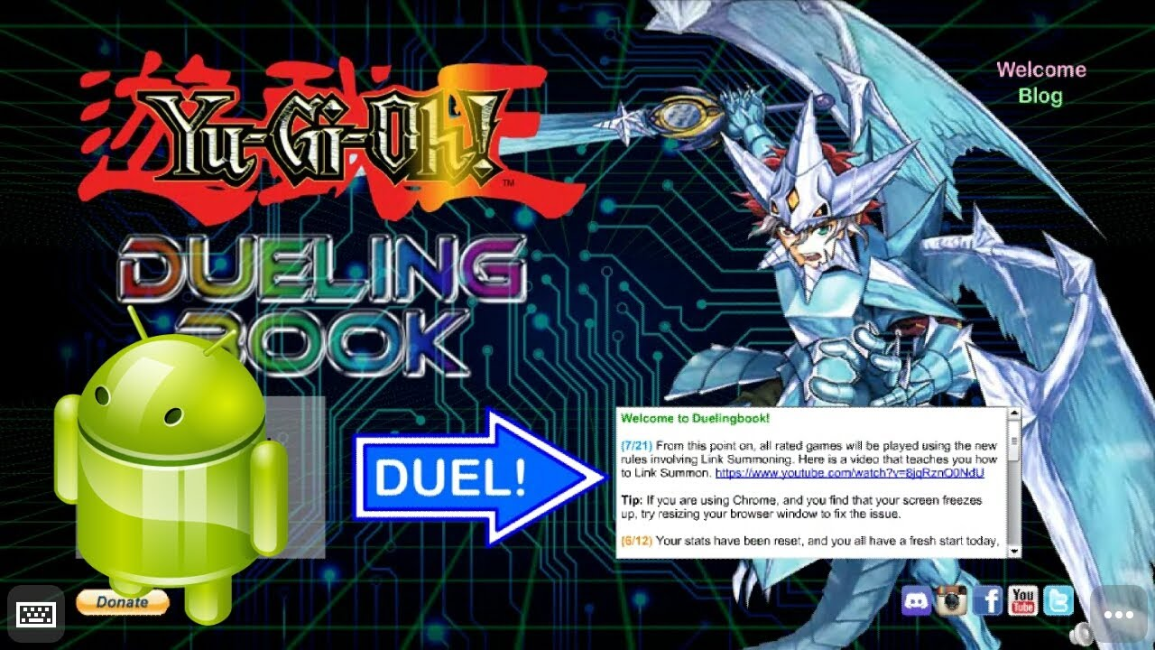 How to play Dueling Book on your Smartphone (Android & iOs)
