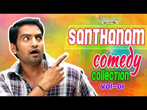 Santhanam Comedy | Scenes | latest | 2015 | Santhanam Comedy Collection -Vol 1