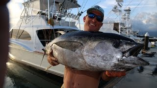 Speared Tuna! CATCH CLEAN COOK! Tasty Tuesday!