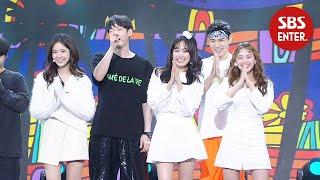아나운서 5인방 '나 어릴적 꿈XI'm Your GirlX날개 잃은 천사'   2019 SBS 연예대상(SBS Entertainment AWARDS)   SBS Enter.