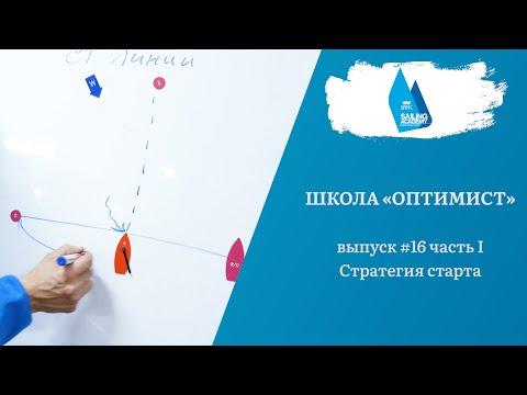 Школа «Оптимист». Выпуск 16.1. Стратегия старта