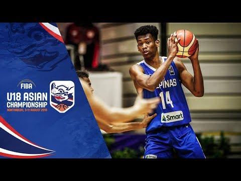 UAE v Philippines - Full Game - FIBA U18 Asian Championship 2018