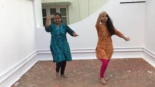 Radha on the dance floor!