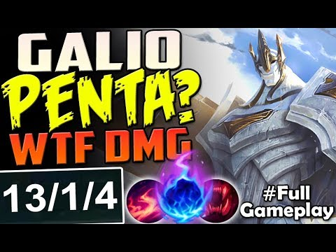 Galio Build Guide : [9.6] 🗿 Galio 🗿 Gameplay-Guide Videos ...
