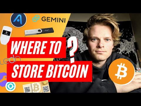 Where To Store BITCOIN In CANADA... \u0026 Earn 6% Interest
