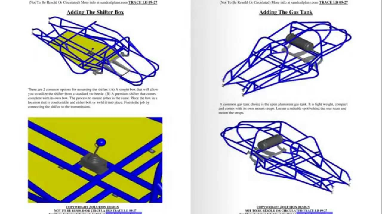 2 seater Dune Buggy Plans By www.dunebuggyplans.com - YouTube