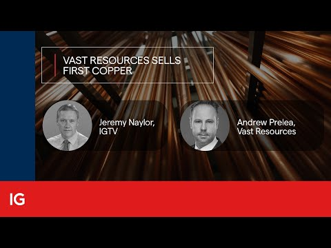 Vast Resources sells first copper