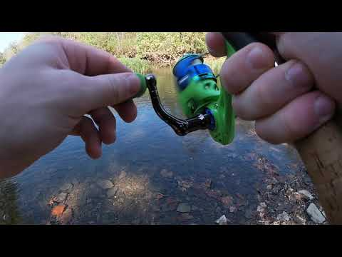 Fishing Nice Mill Dam Recreation Area In TN Part 1