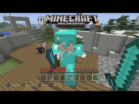 Stealing Kyle's Other Diamond Sword - Minecraft Xbox One Edition (Gameplay, Walkthrough)