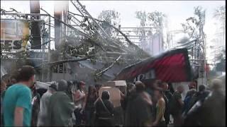 Footage captures horror of Belgian festival tragedy