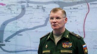 Пресс-брифинг официального представителя Минобороны России о ситуации в Алеппо (12 декабря 2016 г.)