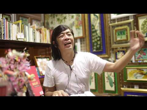 Interview with Victor Lim in Singapore - Peranakan Tiles Expert and Collector