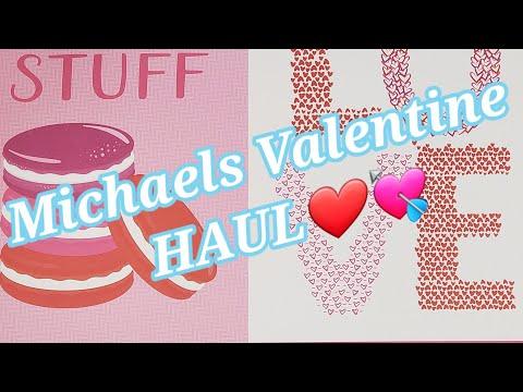 Michaels Valentine HAUL 💘❤💖