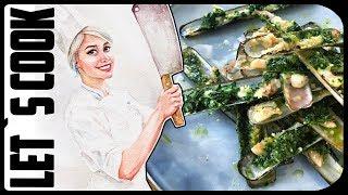 ✿ LET`S COOK ✿ Морские ножи - кто такие и как готовить? Razor clams / Couteaux ♥