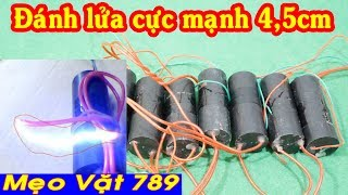 Kích điện cao áp KHỦNG 600kv đánh lửa 4,5cm (Zalo 01655 774 789)