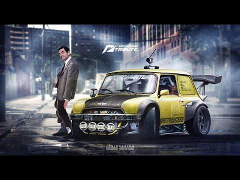 Pixel Car Racer MR. Bean's Mini