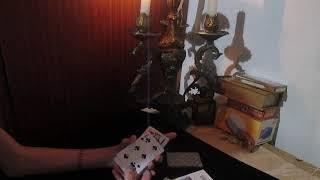 Простой ритуал на игральных картах для наведения тоски на человека