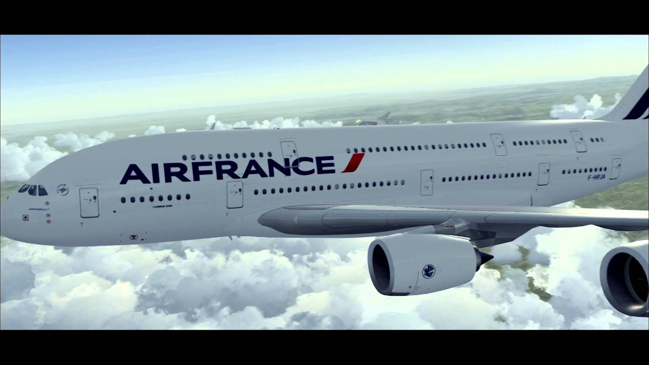 AirFrance Virtuel - Welcome on board