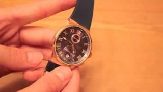 Часы Ulysse Nardin Maxi Marine chronometer 43 mm - Видео обзор от 7 TIMES