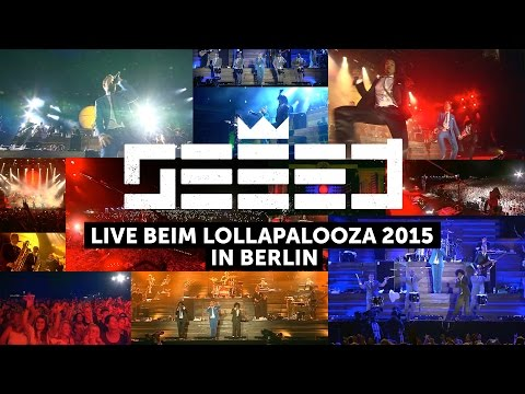 Seeed - Live beim Lollapalooza 2015 in Berlin (HD)