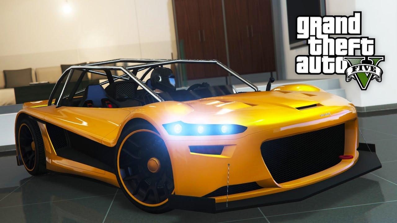 CRAZY NEW SPORTS CAR SPENDING SPREE!! (GTA 5 Online DLC