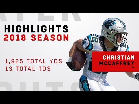 Christian McCaffrey's FULL Season Highlights in 2018!