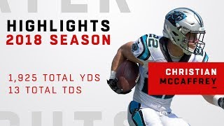 Christian McCaffrey's FULL Season Highlights in 2018!