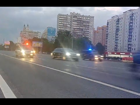Папа едет домой 23.05.2019 / The another one Putin's motorcade 2019-05-23