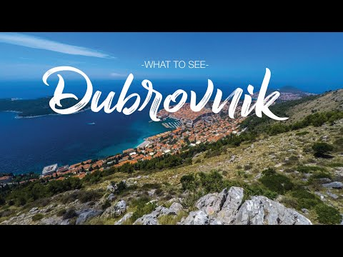 DAY GUIDE to Summer in DUBROVNIK, CROATIA | HD