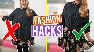 EASY WINTER FASHION HACKS, die jeder kennen sollte ❄️ | SNUKIEFUL