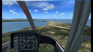 How to autorotate Bell 206 (FSX) HD