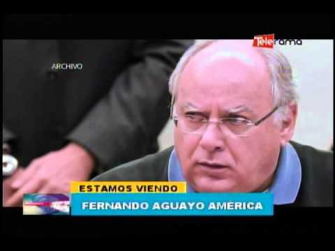 Fernando Aguayo América 27-09-2015