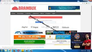 Brainbux bangla tutorial 2018 (Earn 10$ -12$ Per Day)