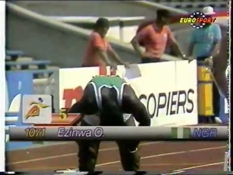 1990, World Junior Athletics Championships, Plovdiv, Bulgaria, Part 2/3