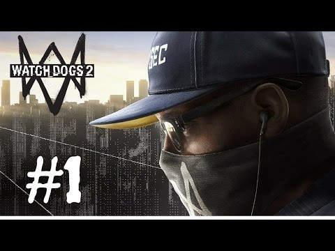 Watch Dogs 2 Walkthrough Gameplay Part 1 (Full Game) – 1080p Full HD PS4 – No Commentary.