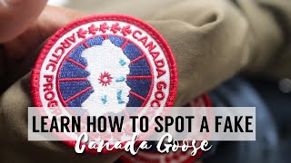 HOW TO SPOT A AAA GRADE FAKE CANADA GOOSE | FAKE VS. REAL