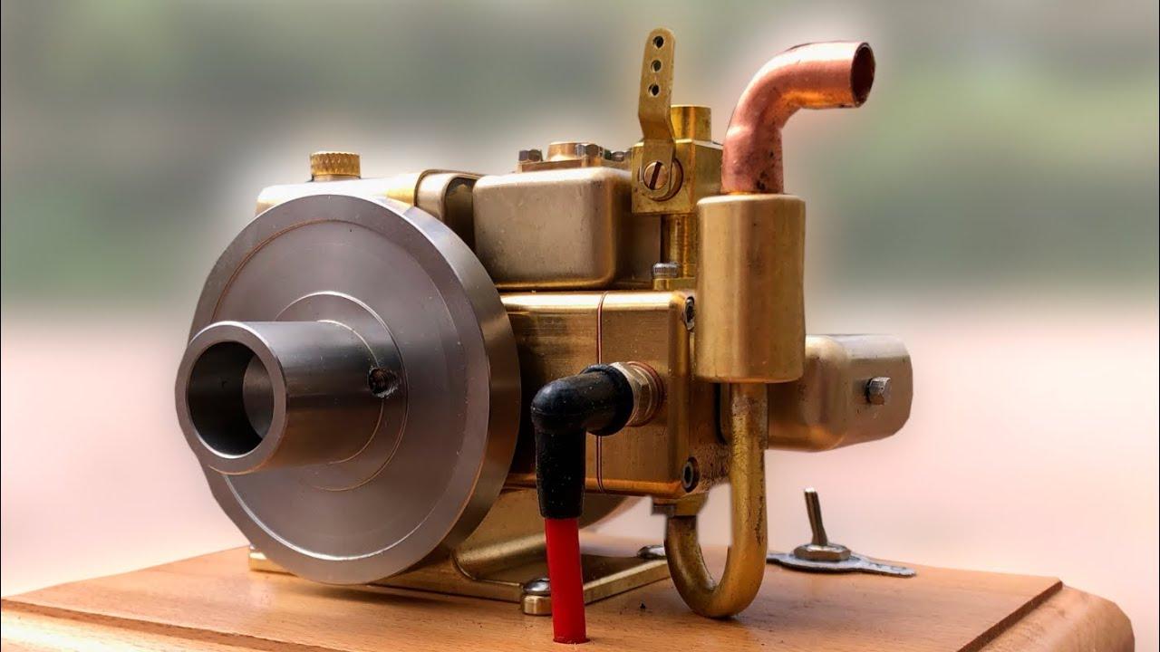 Mini OHV 4 Stroke Engine! Eachine ET5 Water Cooled Pushrod Gas Engine