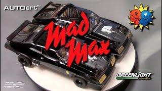 Greenlight vs AutoArt 1/18 MAD MAX Interceptor   My 300th Video!