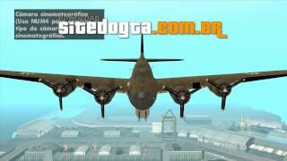 Boeing B-17 Flying Fortress GTA San Andreas