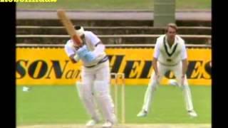 Sunil Gavaskar 166* vs Australia 1st test 1985/86 Adelaide