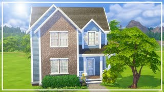 8 SIM STARTER HOME CHALLENGE // The Sims 4: Speed Build